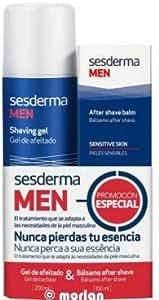 Sesderma Men PACK Gel de Afeitado Hombre, 200ml+ Bálsamo After Shave, 100ml: Amazon.es: Belleza
