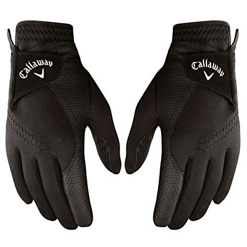 Callaway Golf Thermal Grip, Cold Weather Golf Gloves, Cadet Medium, 1 Pair, (Left and Right) (Best Winter Glove Brands)