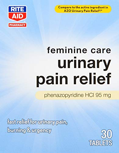 Rite Aid Urinary Pain Relief - 30 Tablets | UTI Relief for Women
