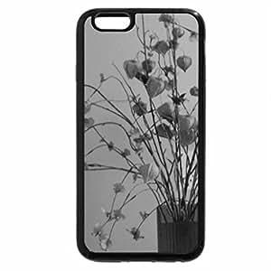 iPhone 6S Case, iPhone 6 Case (Black & White) - Still Life in Orange