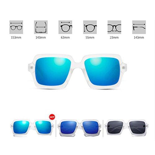 7265fa4198 Gafas de sol de las mujeres alrededor de la cara del marco de la  personalidad Polarizador. Polarizado ...