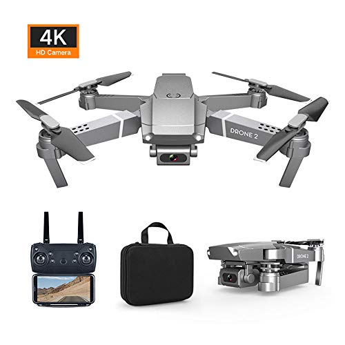 Famyfamy WiFi FPV Drone with E68-4k Camera, Mini Drone with Camera Wide-Angle Live Video RC Easy for Beginners