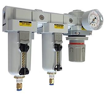 pneumaticplus sau4050 m-n04dg-mep Tres Fase sistema de secado de aire Mist Filtro