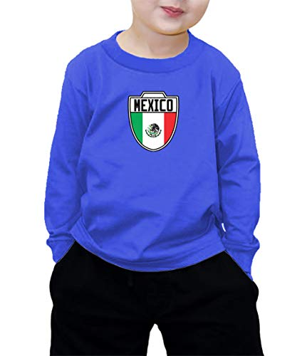 HAASE UNLIMITED Mexico Mexican - Soccer Long Sleeve Shirt (Royal Blue, (Club America Long Sleeve Jersey)