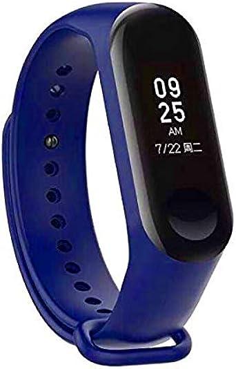 Recambio para Pulsera Actividad XIAOMI MI Band 3 SMARTWATCH MIBAND Correa Reloj (Azul Oscuro): Amazon.es: Relojes