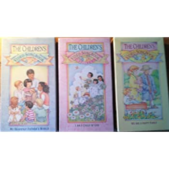 The Children's Video Songbook Volume 1, Volume 2 and Volume 3. VHS