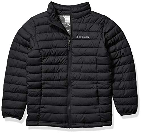 Columbia Boys Powder Lite Jacket, Black ,Large, Big Boys from Columbia