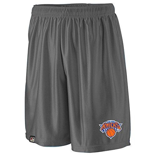 NBA New York Knicks Men's B&T Poly Fleece Team Shorts, 2X, - York Knicks Team New Fleece