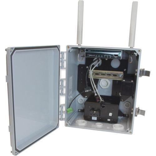 Digi International 70002529 Transport Wr21 Gobi 4g LTE 2 Ethernet Ports Rs232/485 Din Rail with AUX ()