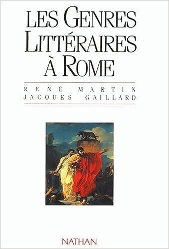 Livres gratuits GENRES LITTERAIRES A ROME epub, pdf