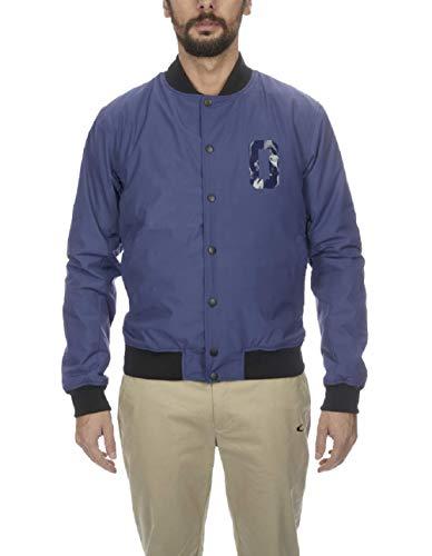 Oakley Men's Street Bomber Jacket, Ensign Blue, M