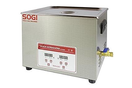 Vasca Da Bagno Con Ultrasuoni : Vasca a ultrasuoni inox pulitore lavatrice riscaldamento 15 l 360w