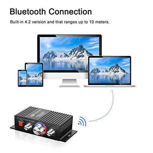 e376fad72f882f 해외구매대행 $26.99] DUTISON HiFi Audio Mini Amplifier - Bluetooth ...