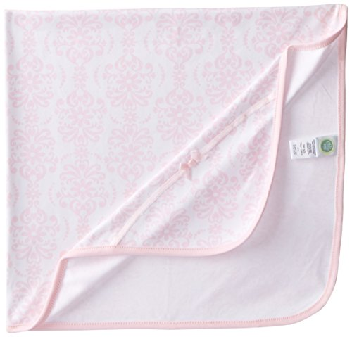 Little Me Baby Girls' Damask Scroll Blanket, Pink/Multi, One Size]()