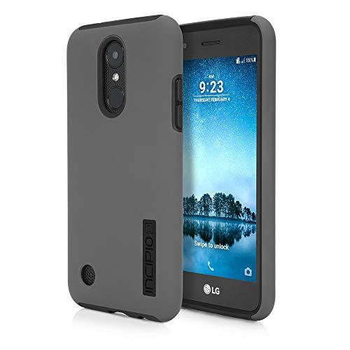 Incipio Technologies LG Phoenix 3 / Fortune/Risio 2 / Rebel 2 LTE DualPro Case - Gray/Black from Incipio