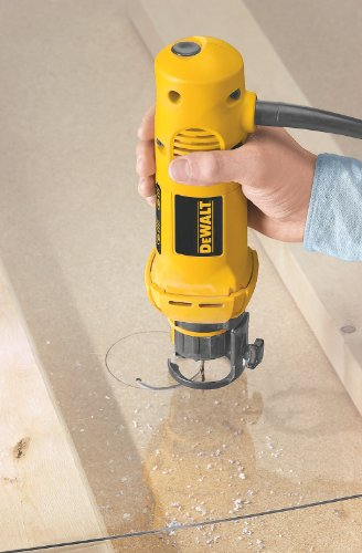 DEWALT (DW660) Rotary Saw, 1/8-Inch and 1/4-Inch Collets, 5-Amp