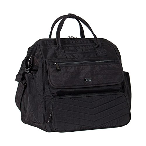 Lug Women's via Travel Duffel Bag, Midnight Black, One Size by Lug
