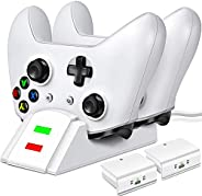 Controller Charger for Xbox one, Controller Charging Station Compatible with Xbox One/One X/One S/One Elite, D