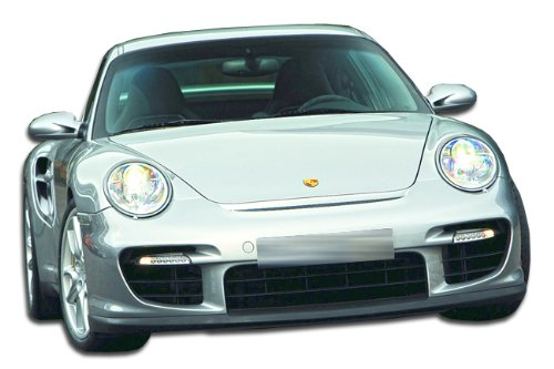 Duraflex ED-BVJ-784 GT-2 Look Front Bumper Cover - 1 Piece Body Kit - Compatible For Porsche 997 2005-2011