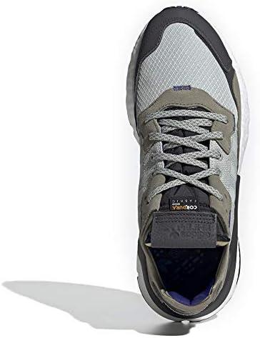 adidas Nite Jogger - Zapatillas para hombre, Gris (Plata ceniza/Plata ceniza / Núcleo Negro), 42 EU: Amazon.es: Zapatos y complementos