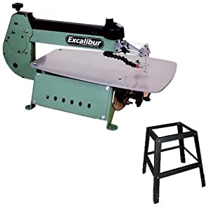 General International EX-21S 21-Inch Excalibur Scroll Saw with Stand