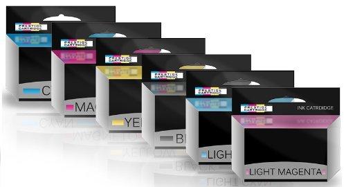 5 opinioni per Prestige Cartridge HP84/HP85 Sei Cartucce di Inchiostro non OEM per Stampanti HP