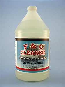 Fryer & Grill Cleaner - 1 gallon