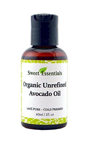 Organic Unrefined Extra Virgin Avocado Oil | 2oz | Imported From Italy | Cold-Pressed | 100% Pure | Raw/NON-GMO/Green In Color