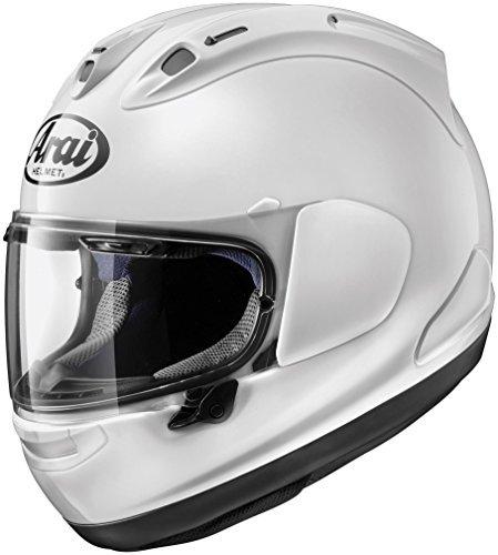 (Arai Solid Corsair-X Street Motorcycle Helmet - White / X-Large by Arai)