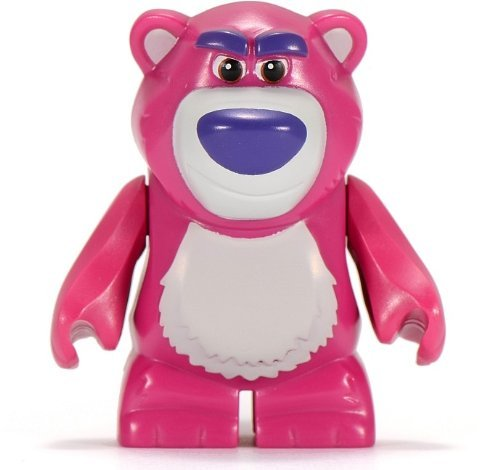 Lego Toy Story - Minifigure Lotso Hugs (Approximately 50mm / 2 Inches Tall) (Grau Ferrari)