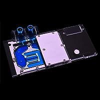 Graphics Card Water Block use for Sapphire Nitro+ Radeon RX Vega 64 8GB HBM2 (11275-03-40G) Full Cover GPU Block RGB