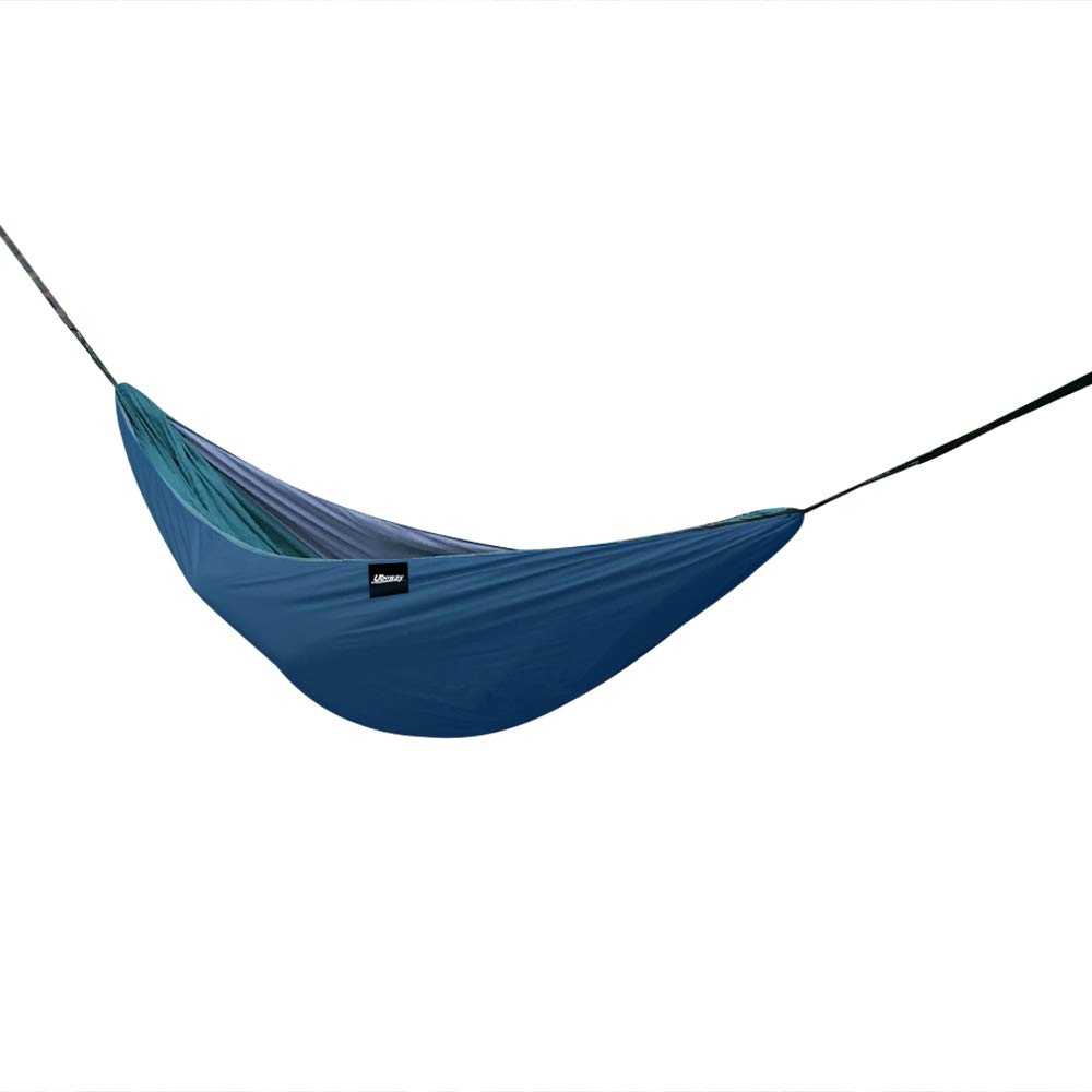 UBOWAY Hammock Underquilt - Packable Full Length Under Blanket, Camping Quilt(Navy) by UBOWAY