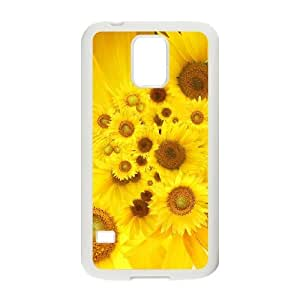 Case Of Sunflower Customized Case For SamSung Galaxy S5 i9600