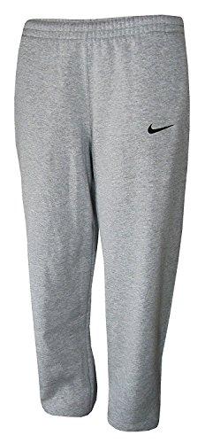 Nike Core Open Bottom Fleece Pants (X-Small, Gray)