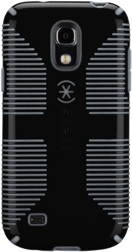 Speck Products Candy Shell Grip Case for Samsung Galaxy S4 Mini  - Black/Slate Grey (Speck Candyshell S4 Case)