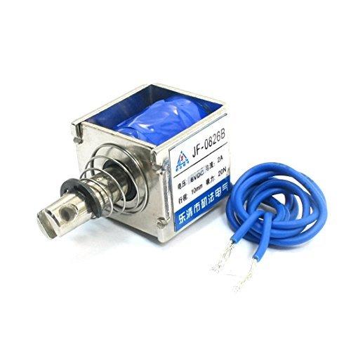 JF-0826B DC6V 20N Force 10mm Linear Motion Solenoid Electromagnet DealMux DLM-B016MMVVNE
