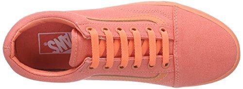 Mono Coral Arancione Scarpe Basse Fusion Unisex Ginnastica Adulto Vans Authentic da 4qwx48Ap