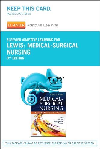 Elsevier Adaptive Learning for Medical-Surgical Nursing (Access Card), 9e