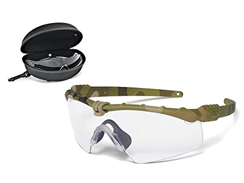 Oakley SI Ballistic M-Frame 3.0 Shooting Glasses Multicam Frame/Clear and...