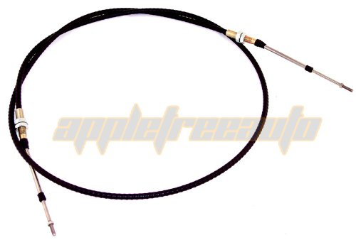 PUSH PULL CABLE, THREADED 6', dune buggy vw baja bug air cooled