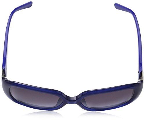 0879dcfb7cb5fb ... Love Moschino - Lunette de soleil ML540S Grande - Femme Blue  frame gradient blue lens