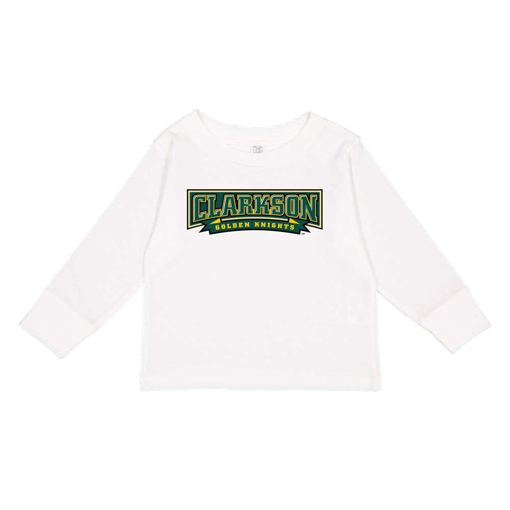 NCAA Clarkson Golden Knights PPCUN08 Toddler Long-Sleeve T-Shirt