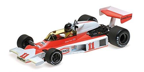 McLaren Ford M23 #11 James Hunt World Champion 1976 1/18 Diecast Model Car by Minichamps 186760011 -