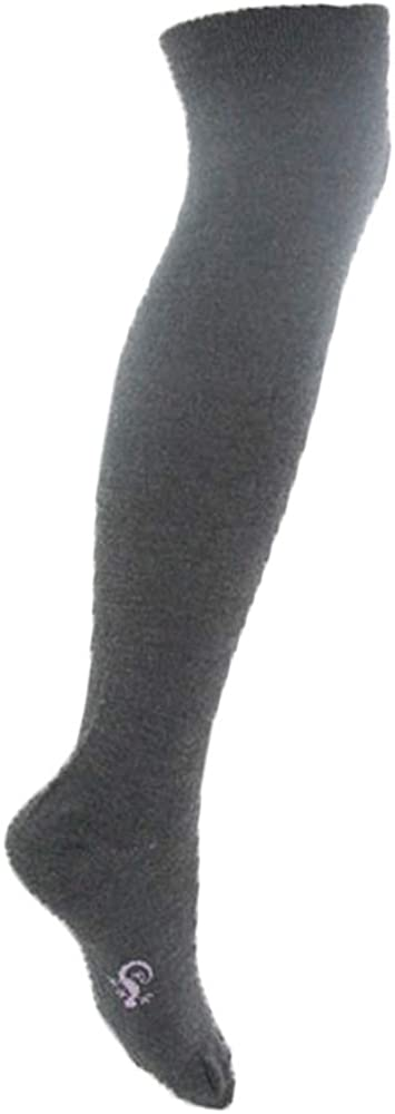 STAY UP Girls Over the Knee School Socks 5 Pairs with Stay On Technology