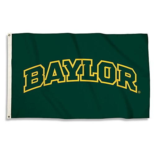 NCAA Baylor Bears Unisex NCAA 3 X 5 Foot Flag with Grommets, Green, One Size