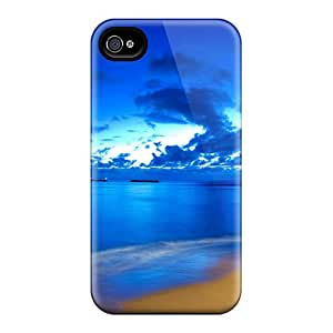 New Premium Flip Case Cover Happy End Skin Case For Iphone 4/4s