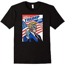 Men's Make America Hate Again | Liberal, Anti-Trump T-shirt Large Black