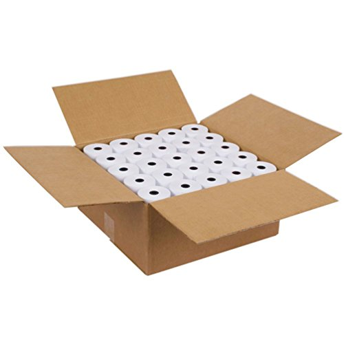 SJPACK Thermal Paper 2 1/4'' X 85' Pos Receipt Paper, 50 rolls Cash Register Roll by SJPACK