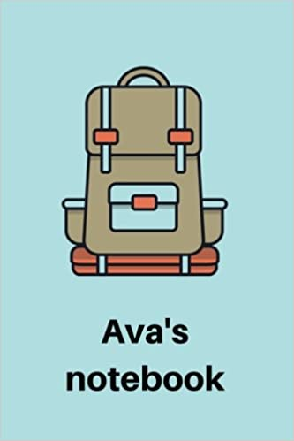 Ava s Notebook  6x9