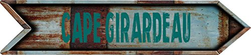 Any and All Graphics Cape Girardeau City Vintage Rustic look Arrow shaped 8